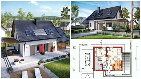 simple but elegant house plans render that shows the most beautiful small house design is presented bellow the house