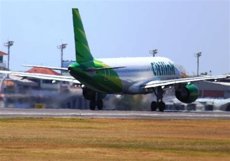 citilink indonesia citilink cancels flights serving surabaya lombok due to