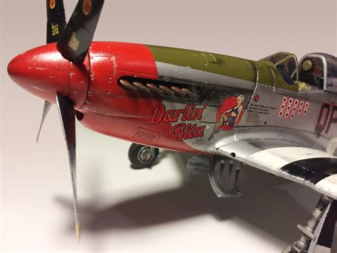 p 51 mustang scale model 1 32 scale p 51 mustang model plane bedlam creations