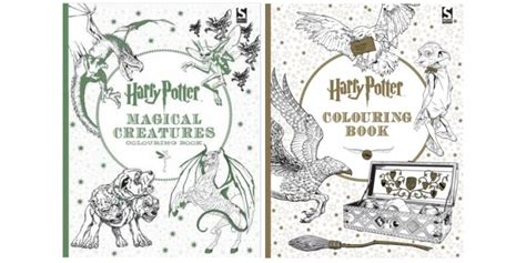 harry potter coloring book half price books harry potter colouring books 163 4 99 each with free