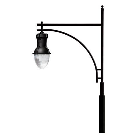 Pole Light Fixtures Large High Output Hid Luminaire Light 120v Powder Coated Cast Aluminum Pole