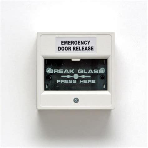 Ness Corporation Ness Emergency Break Glass Door Release Glass Door Release