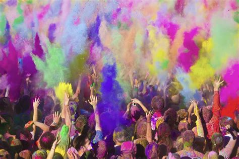 awesome festival of colors holi in india