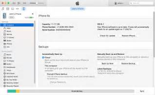how to back up your iphone and ipod touch apple