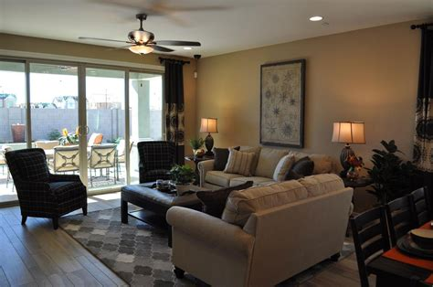 family room fulton homes