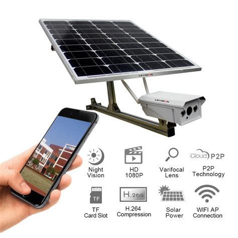 night ls home 4g solar powered security camera solar wireless wifi