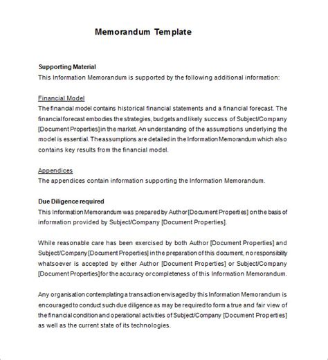 template of memo 19 memorandum templates free word pdf documents
