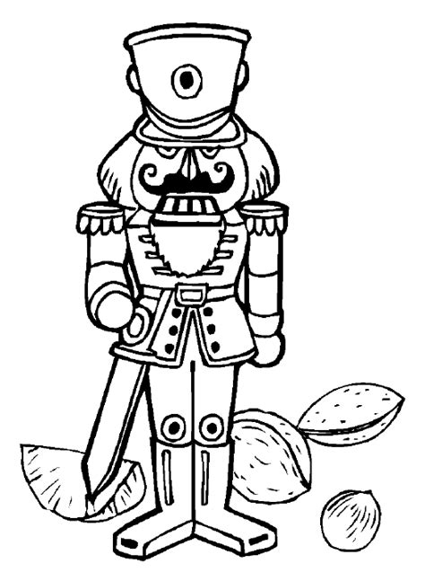 free nutcracker coloring pages to print free christmas coloring pages