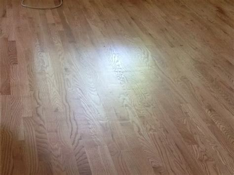 Dishout Hardwood Floor - is this much chatter wave acceptable on new oak floors w