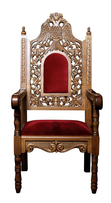 Bishop Chairs by Alpha Omega Church Supplies Orthodox Ecclesiastical Vestments Icons