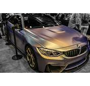 Chameleon Pearl Wrapped BMW M4  YouTube