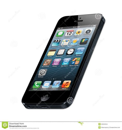 iphone 5 editorial stock image illustration of electronics 26594044