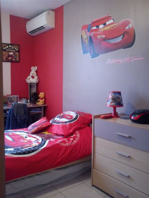 chambre cars disney d 233 coration chambre cars