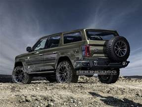 Ford Bronco Rendering 2020 Ford Bronco Four Door Suv Looks Ready To