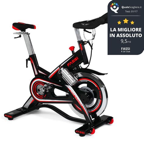 Spinning Bike Sport Hitam Merah fit bike r 26 club fassi scontata fassi sport shop fassi sport