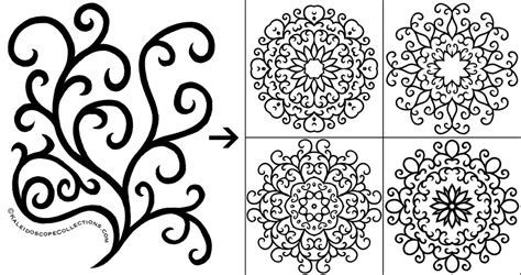 how to make doodle on using kaleidoscope kreator to create designs for