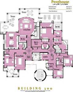 Penthouse Floor Plan by Penthouses In Chicago Floor Plans Penthouse Floor Plans