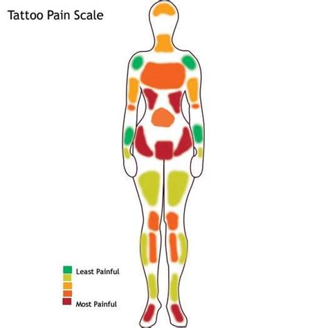 pain scale for tattoos scale tattoos