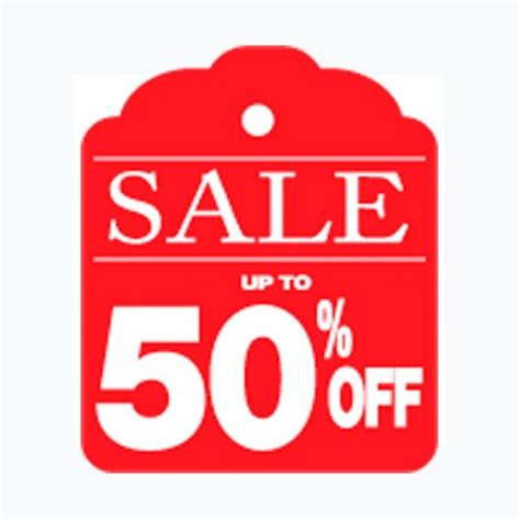 Up To 50 6 high quality sale up to 50 sign