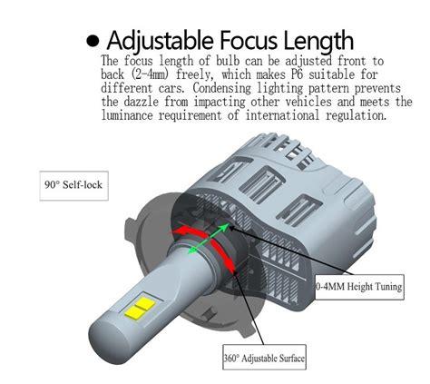 Lu Philips H11 led h8 10400 lumenes mejor que bridgelux cree xenon h11 h9