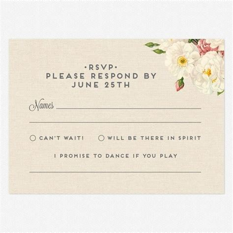 rsvp cards for weddings templates wedding dj atmosphere productions song requests on