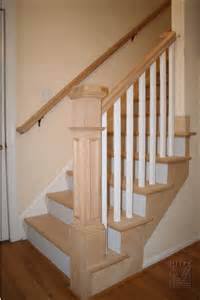 Stair Rail Post by Staircases Amp Balustrades Oak Rail Amp Stair Tread Replacement