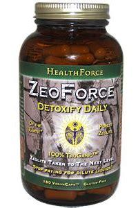 Zeoforce Detox Reviews by Zeoforce Detoxify Daily Zeolite 180 Caps