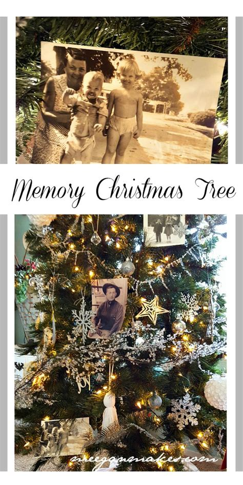 memory christmas tree what meegan makes