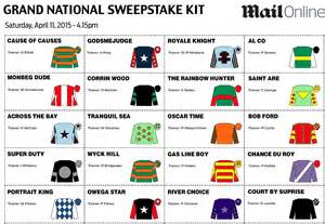 Grand National Sweepstake - grand national sweepstake your essential kit for the 2015 race capitalbay