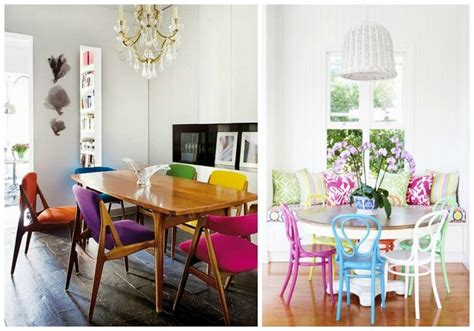 Different Color Dining Chairs How To Choose Mismatched Dining Chairs Tastefully 7 Tips Interior Design Inspirations And