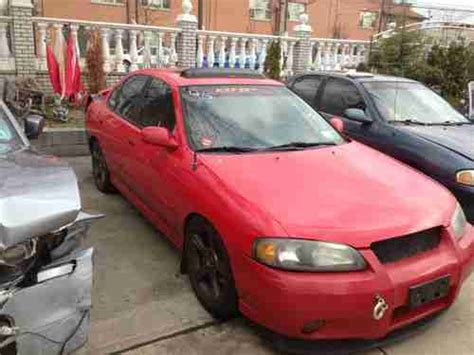 how petrol cars work 2003 nissan sentra on board diagnostic system sell used 2003 nissan sentra se r sedan 4 door 2 5l needs work runs and drives in brooklyn new