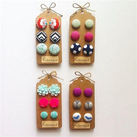nickel free earrings australia wholesale fabric button earrings nickel free usa posts rubenabird rubenabird madeit au