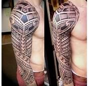 Awesome Tribal Sleeve Tattoo For Man  Cool Tattoos