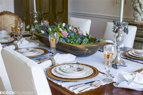 define decor setting a dining table to reflect your french country style