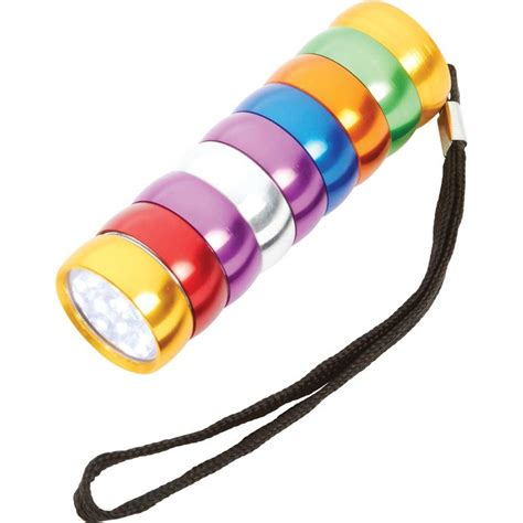 wholesale 9 led multi colored flashlight buy wholesale