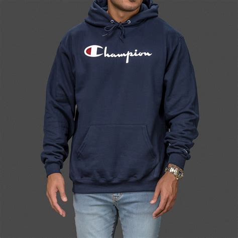 Hoodie Shirt navy chion classic pullover hoodie wehustle menswear womenswear hats mixtapes more