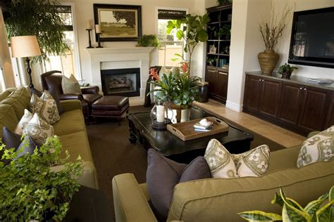 green and brown living room 25 cozy living room tips and ideas for small and big