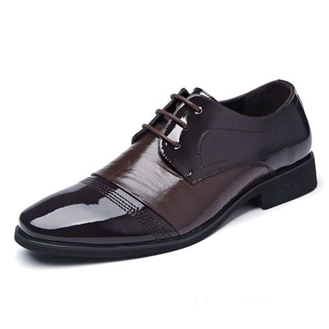 2015 suede mens black brown mens dress shoes