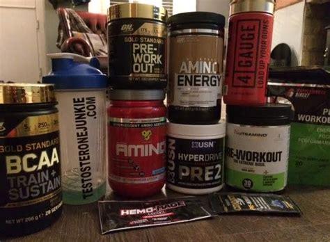supplement junkie top 3 pre workout supplements testosterone junkie