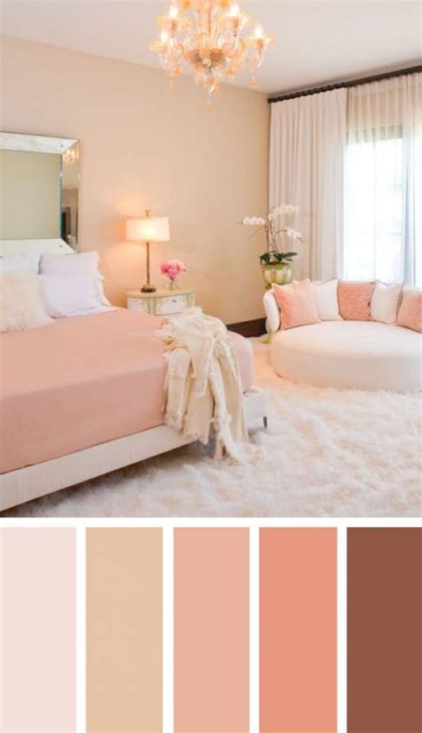pink color scheme quarto bonito sala de design  pintar quarto