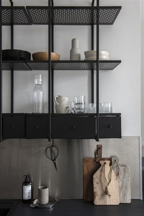 metal shelves for kitchen 25 best ideas about metal shelves on metal