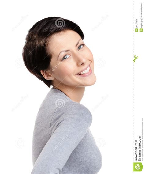 imagenes mujer alegre mujer alegre sonriente imagenes de archivo imagen 26028854