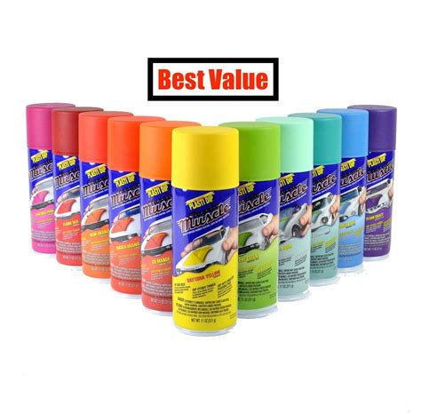 Colorfull Rubber Spray performix plasti dip spray can rubber coating 11oz aerosol