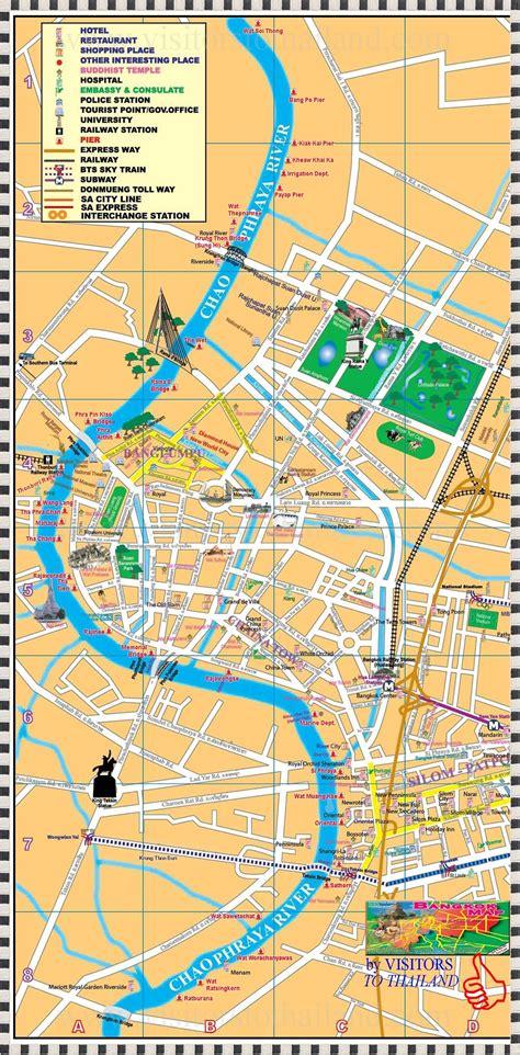 chao phraya express boat route chaophraya river map