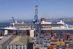 ville portuaire de valparaiso chili image libre de