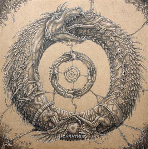 quetzalcoatl tattoo meaning ouroboros by zarathus on deviantart