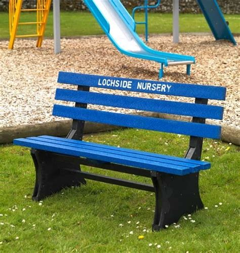 plastic park benches for sale presents with a difference