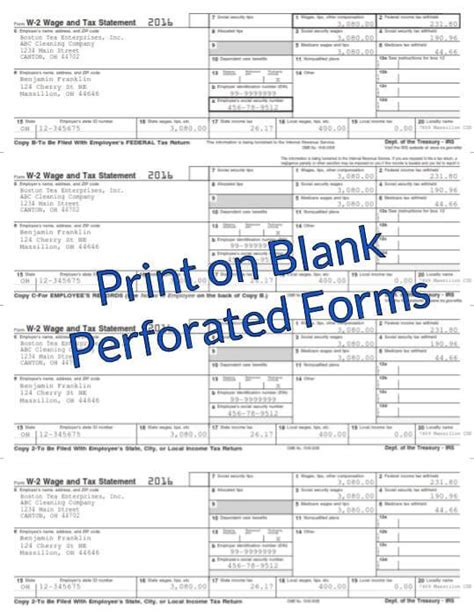 W 2 Print Options In Patriot S Payroll Software Patriot Software Help 2016 W2 Form Template