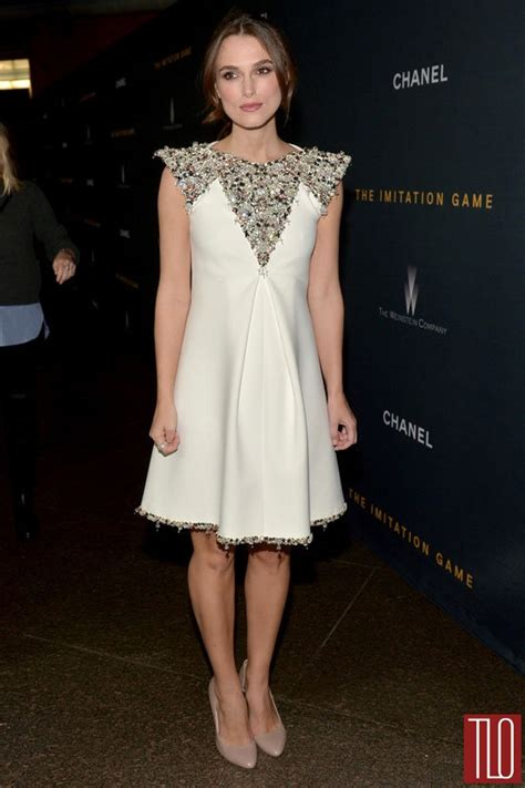 Gamis Fashion Chanel keira knightley in chanel couture at quot the imitation