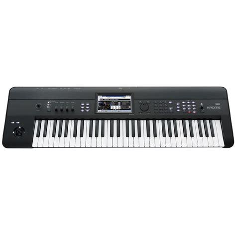 Keyboard Korg Krome 61 korg krome 61 key synthesizer workstation machine nz